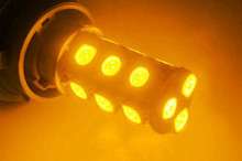 Orange LEDs - BAU15S & BA15S base