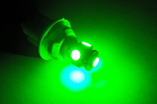 Led T10 - W5W Base - Green
