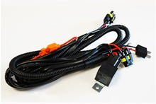 Relay harness cables for Xenon HID conversion kit