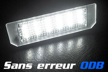 LED modules OBC license plate