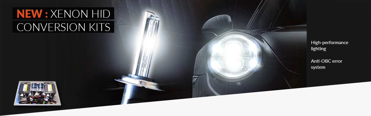 NEW: Xenon HID conversion kits