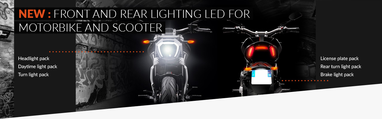 NEW: LED Lighting for Motorcycle / Scooter