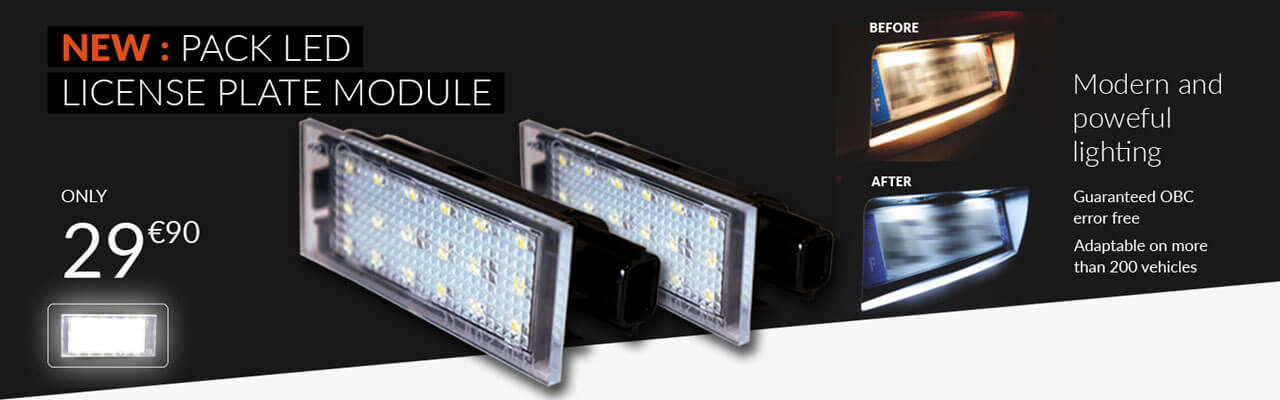 NEW: PACKS PLATE LED MODULES