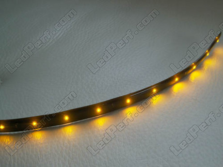 Special flexible led strip for indicators turn signal - Bande led autocollante ...