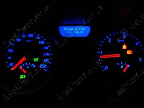 led meter dash kit renault megane 2 blue red white green. Black Bedroom Furniture Sets. Home Design Ideas