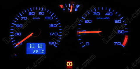 led meter dash kit peugeot 106 ph2 blue red white green. Black Bedroom Furniture Sets. Home Design Ideas