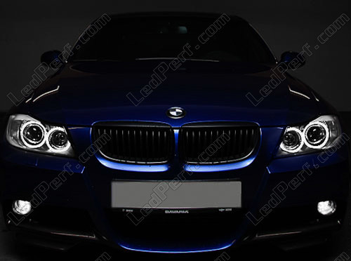 Pack Led Angel Eyes Rings For Bmw 3 Series E90 Phase 1