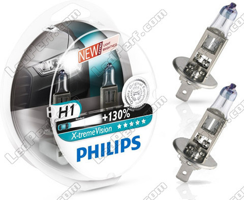 Bulbs Philips X-treme vision +130% H1 Xenon Effect