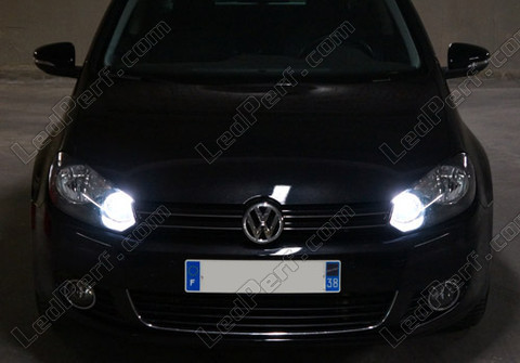 Diamond white bulb gas xenon 4000K H15 Michiba Led