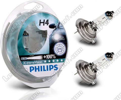Bulbs Philips X-treme Power H4 Xenon Effect