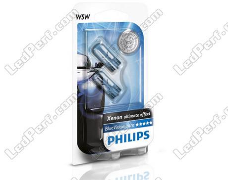pack of 2 philips bluevision ultra halogen sidelights. Black Bedroom Furniture Sets. Home Design Ideas