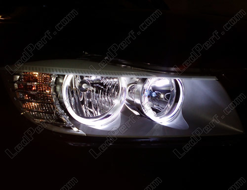 Pack Led Angel Eyes Rings For Bmw 3 E90 E91 Phase 2 Lci