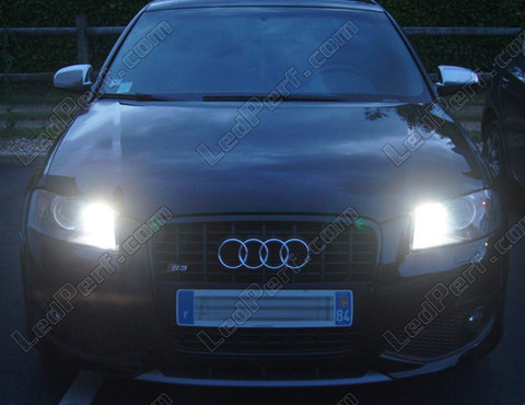 pack led daytime running lights for audi a3 8p drl. Black Bedroom Furniture Sets. Home Design Ideas
