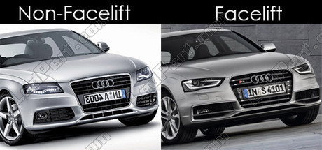 Pack Fog Lamps Xenon Effect For Audi A4 B8