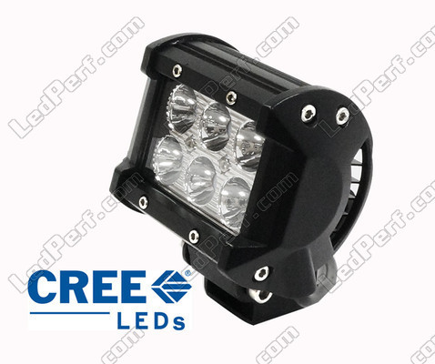 Mini led bar double row 18w cree for motorcycle and quad mini led light bar cree double row 18w 1300 lumens for motorcycle and atv mozeypictures Images