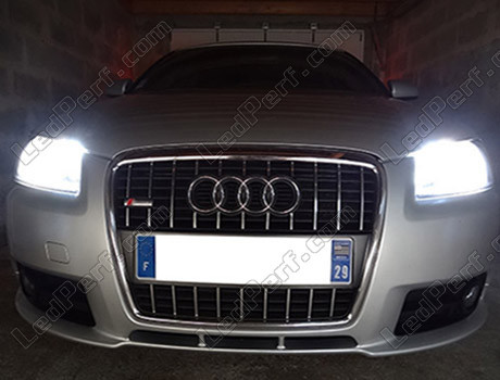 Audi A3 8p Led Headlights Conversion