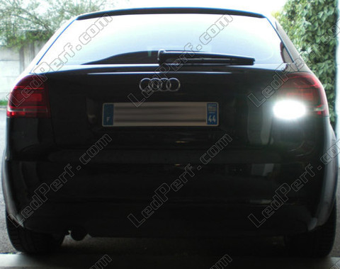 pack led backup lights for audi a3 8p. Black Bedroom Furniture Sets. Home Design Ideas