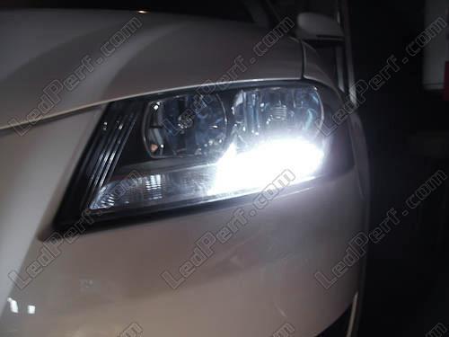 Pack LED daytime running lights (DRL) xenon white for Audi A3 8P Facelift