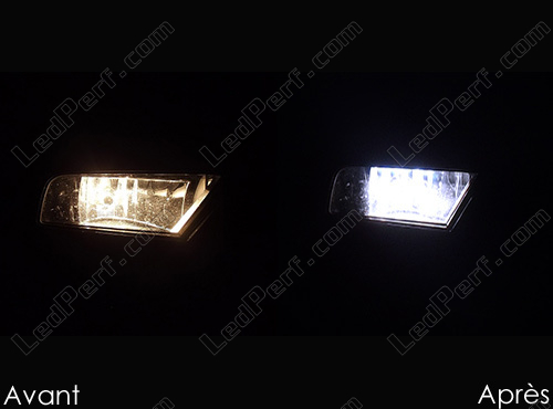 Pack Headlights Xenon effect bulbs for Audi A4 B8