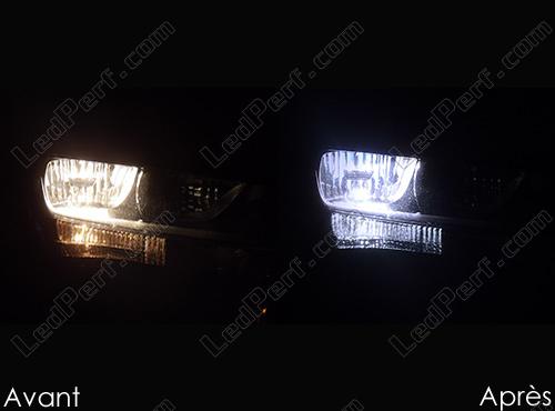 Pack Headlights Xenon Effect Bulbs For Audi A4 B8