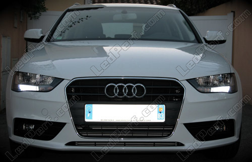 Pack Led Daytime Running Lights For Audi A4 B8 Drl