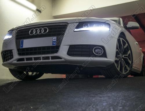 Pack LED daytime running lights for Audi A4 B8 (DRL)