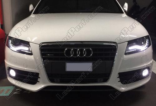 Pack Bulbs Led Fog Lamps For Audi A4 B8