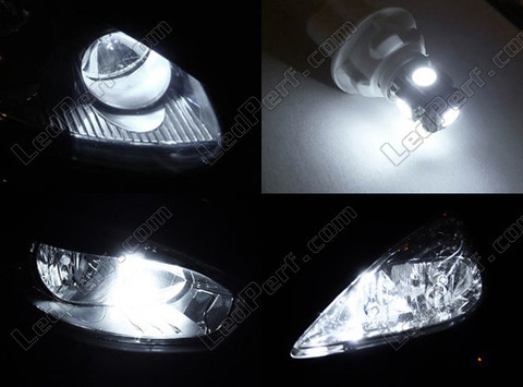 Led Xenon White Sidelights Chevrolet Spark Tuning