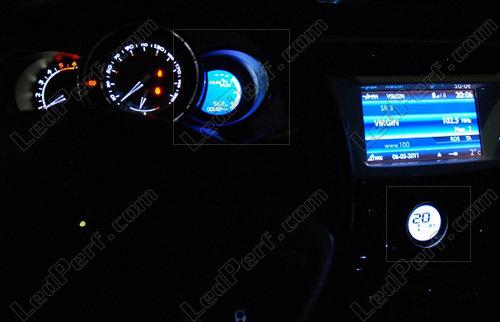 LED Kit for meter/dashboard Citroen DS3 blue/red/white/green