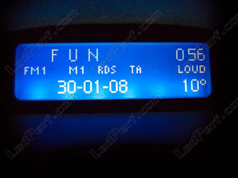 blue Display unit LED for Citroen Xsara
