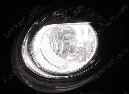 pack headlights xenon effect bulbs for fiat 500 / abarth 500
