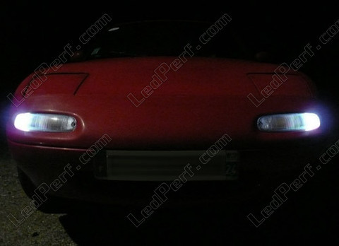 Led Sidelights White Xenon Mazda MX-5 NA