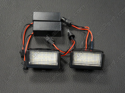 Pack of 2 LEDs modules license plate for Mercedes ML (W164)