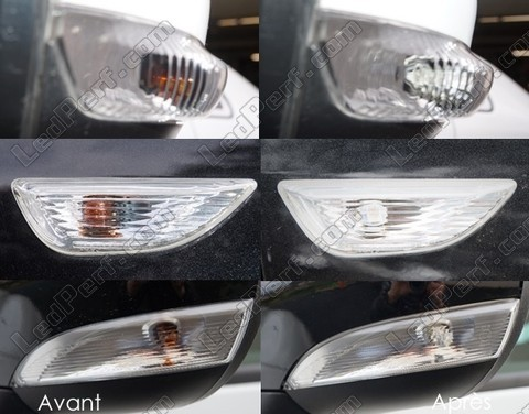 Led Side Repeaters Nissan X Trail II Tuning
