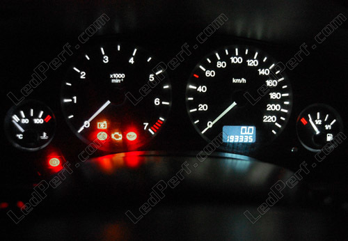 LED Kit for meter/dashboard Opel/Vauxhall Astra G blue/red