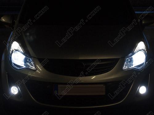 Xenon Effect Bulbs Pack For Opel Corsa D Headlights