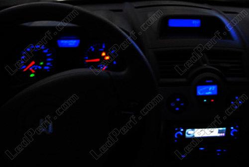 7 LED Renault Laguna 1 Interior Lights Package Kit Set white red blue green