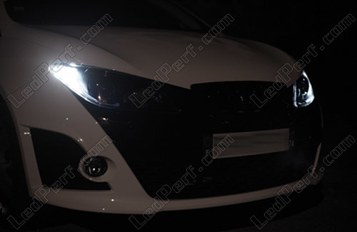 Pack Led Daytime Running Lights For Seat Ibiza 6j Drl