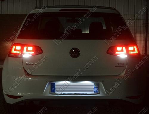 pack led backup lights for volkswagen golf 7