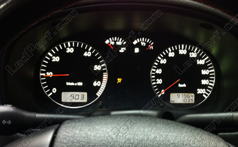 white Meter LED for Volkswagen Polo 6N