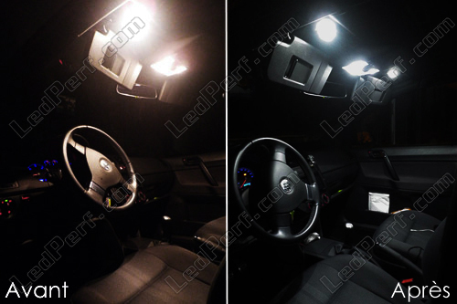 Pack Full LED interior for Volkswagen Polo 9N3