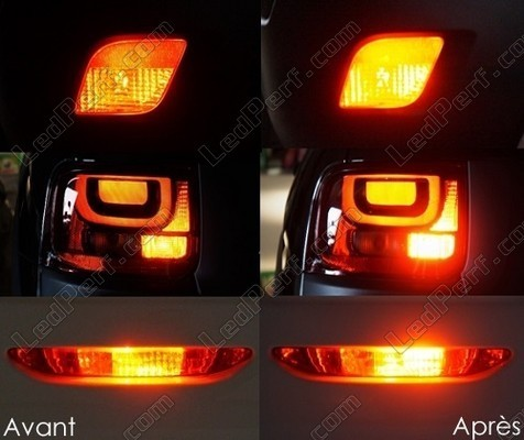 Led Rear Fog Volkswagen Sharan 7M Tuning