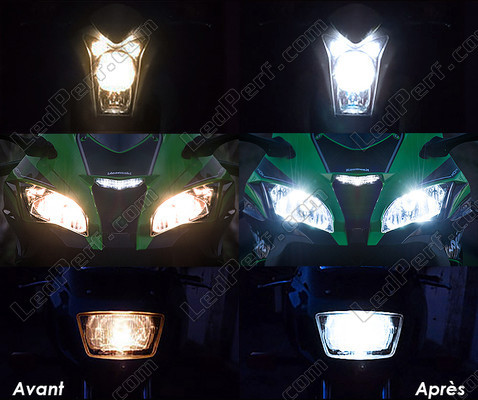 LED dipped beam and main-beam headlights LED for BMW Motorrad G 310 R