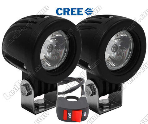 Additionnal LED Headlight Derbi Rambla 125 / 250