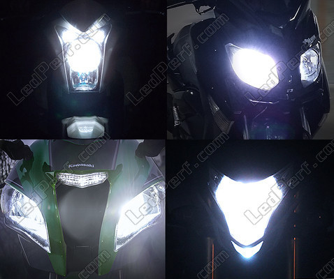 Led Headlights Harley-Davidson Road King 1450 Tuning