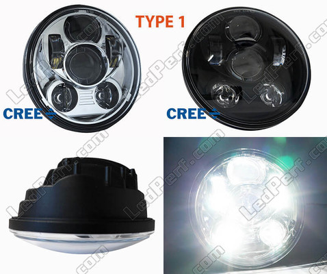 Motorcycle LED Headlight Type 1 Harley-Davidson Seventy Two XL 1200 V