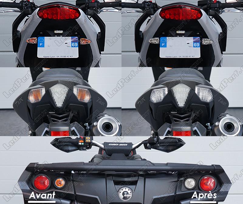 Pack Rear Led Turn Signal For Honda Integra 700 750