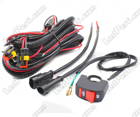 Ignition Wire For Additional LED Headlight Kymco MXU 700