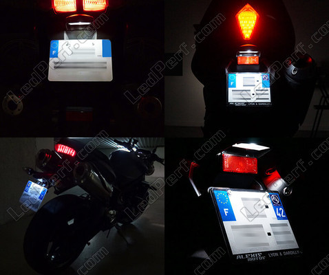 Led License Plate Suzuki GSX-R 750 (2008 - 2010) Tuning