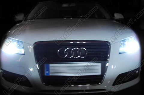 pack led daytime running lights for audi a3 8p facelift drl. Black Bedroom Furniture Sets. Home Design Ideas